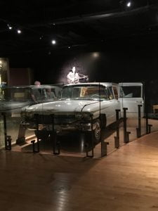 Elvis' gold Cadillac - the Country Music Hall of Fame and Museum, Nashville