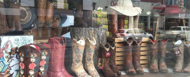 Nashville shop window