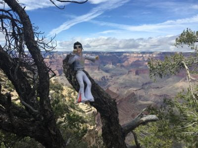 Elvis at the Grand Canyon