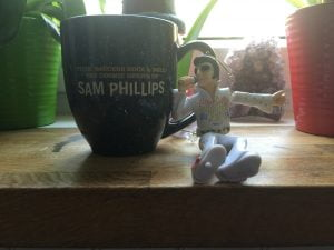 Flyin' Saucers Rock & Roll: the Cosmic Genius of Sam Phillips souvenir mug