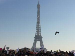 Paris : Women's March
