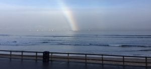 Rainbow over the North Sea