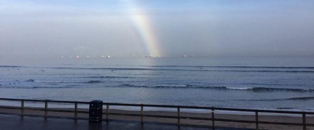 Rainbow over the North Sea